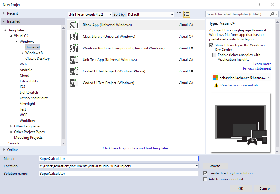 how to open xaml window from console
